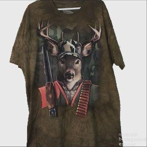 The Mountain Hunting Buck Shirt
